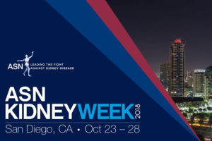 ASN Kidney Week 2018 Calendar