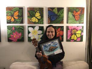 Artist Chryslina Schlichter Brings Joy to Patients' Lives