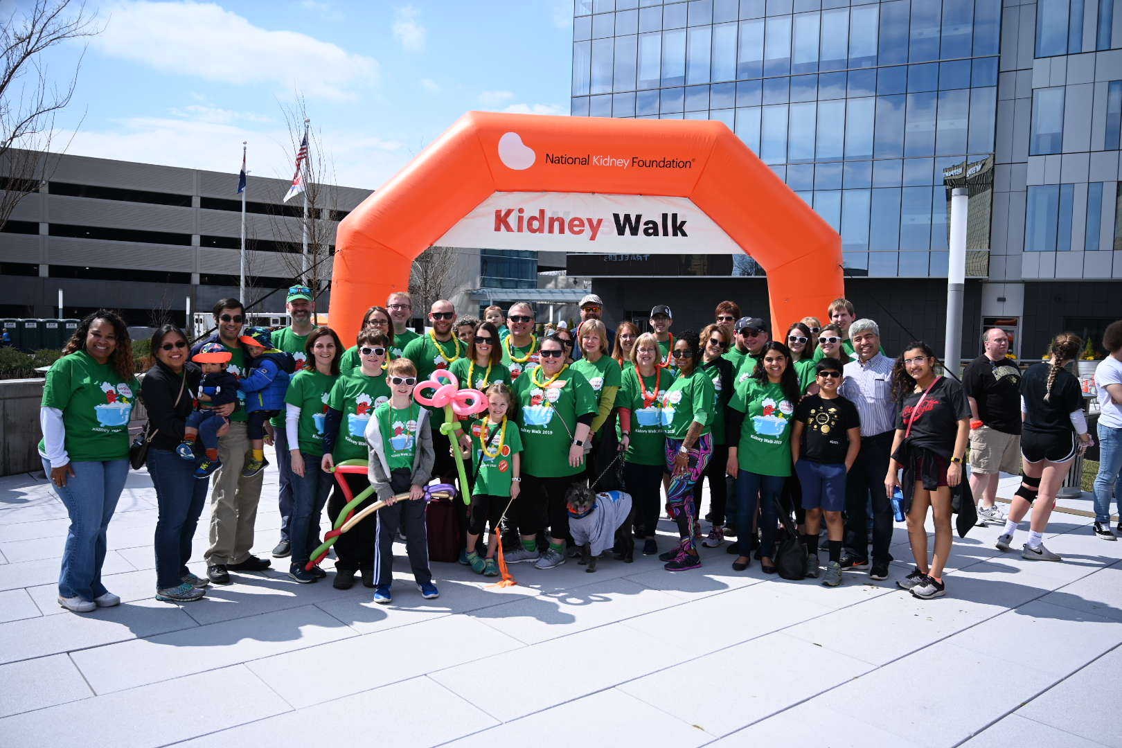 Annual National Kidney Foundation Walk a Success - Division