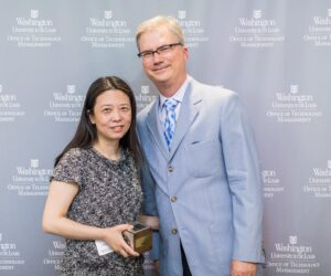 Dr. Maggie Chen and Yeawon Kim Honored at OTM's Annual Celebration of Inventors