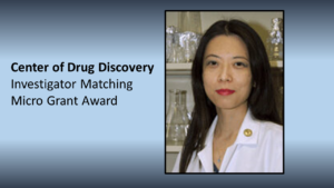 Ying Maggie Chen Receives Center for Drug Discovery Investigator Matching Grant