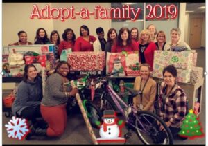 Santa's Got Competition!  WashU Nephrology Spreads the Joy to Young Dialysis Patients with Adopt-a-Family Christmas Event