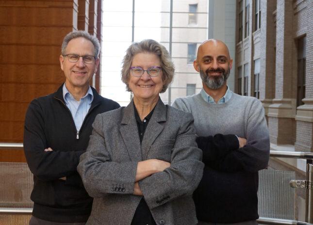 Cilia researchers (L) Brody, Dutcher, Mahjoub