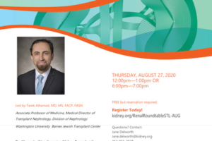 Dr. Tarek Alhamad to Lead Virtual Renal Roundtable Lecture Series