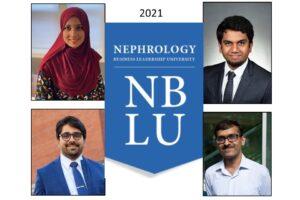 Renal Fellows Attend 2021 Nephrology Business Leadership University